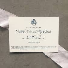 Reserve The Date Cards Classic Equestrian Save The Date Cards With Envelopes Cardinal And
