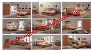 Solid Wood Bedroom Suites Bedroom Furniture Suite By Leather Pad And Cherry Solid Wood Bed