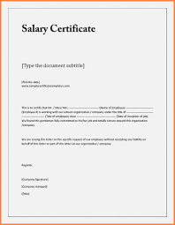 Example Certificate Employment Certificate Sample For Bank Loan New