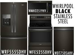 whirlpool black stainless steel appliances. Whirlpool Black Stainless Steel Kitchen Package And Appliances