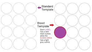 Designing A Label Template When How To Use A Bleed