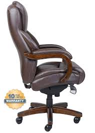 la z boy 45833 delano big and tall comfortcore traditions executive office chair chestnut brown ca home kitchen