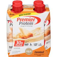 premier protein shake caramel 30g protein 11 fl oz 4 ct