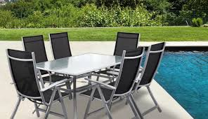 seater tables top garden round set recall glass magnificent smashed outdoor metal chairs shattering and table