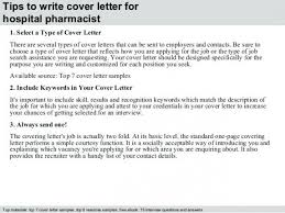 Sample Cover Letter Pharmacist Ideas Of Hospital Pharmacist Cover