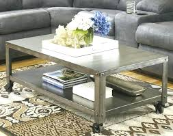 round coffee table with casters coffee table with caster wheels coffee table on casters move it