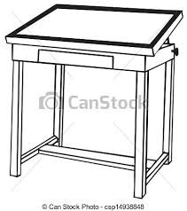 coffee table clipart black and white. table clipart #247 coffee black and white