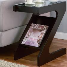 furniture top glass cube modern end tables with storage  fileove