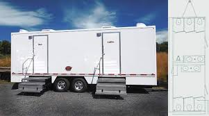 bathroom trailers. JohnnyOnTheSpot, A Complete Line Of Deluxe Portable Bathroom And Trailer Units Trailers L