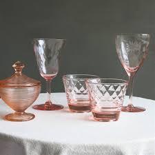 vintage pink depression glass from jeni sandberg vintage 25 similar