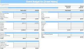 financial budget template event budget template excel essential monthly expenses