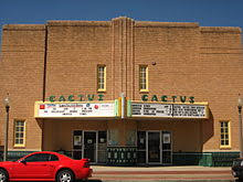 Cactus Theater Lubbock Seating Chart Cactus Theater Wikivisually