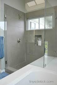remodeled bathrooms with tile. Modern Coastal Master Bathroom Remodel At TinySidekick.com Remodeled Bathrooms With Tile S