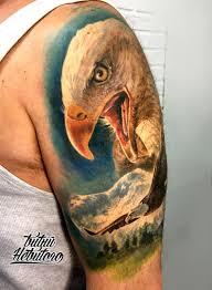тату горы тату орел и горы тату горы реализм