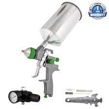 hvlp air compressor com tcp global brand professional new 25mm hvlp spray auto paint primer metal flake with air regulator automotive