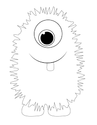 Small Picture Coloring Download Silly Monster Coloring Pages Silly Monster