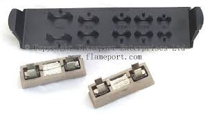 mem 4 way metal fuse box rewireable fuses and plastic holder for spares