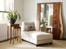 vintage wall decor mirrors with decorative wooden mirror frame and sleeper couch for attractive interior decorating wall art
