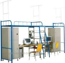 bed with office underneath. Bunk Bed Office Underneath Fresh Dormitory Jt 164 With Shoe Shelf