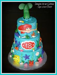 Ariel Cake Decorations Little Mermaid Cake Cakecentralcom