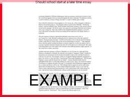 should school start at a later time essay essay service should school start at a later time essay college links college reviews college essays college