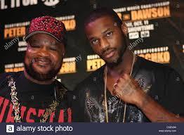 Eddie Mustafa Muhammed und Chad Dawson letzte Pressekonferenz für Antonio  Tarver und Chad Dawson im Palms Hotel and Casino Stockfotografie - Alamy