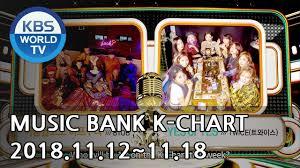 Music Bank K Chart 2018 Music Bank K Chart 4th Week Of November Btob Twice 2018 11 23