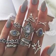 <b>New</b> trendy <b>vintage Bohemian</b> 14 pc ring set <b>New</b> trendy ...