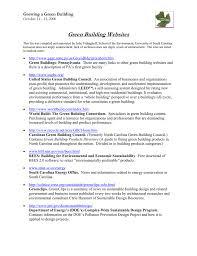 Green Building Websites - University of South Carolina