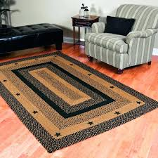 rugs braided jute rug green kitchen 6 x 8 area 6x9 chenille 9