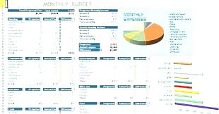 Sample Monthly Household Budget Monthly Household Expenses Spreadsheet Budget Worksheet Expenses