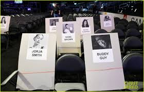 Grammys 2019 Seating Chart Revealed See The Photos Photo