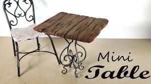 How to make miniature furniture Doll House How To Make Miniature Furniture Type Miniature Furniture Small Table Tutorial Custom Made Miniatures Design 15 How To Make Miniature Furniture Object Custom Made