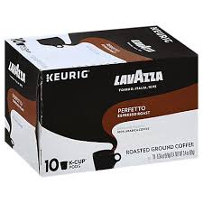 If your keurig used to make decent coffee but is now getting worse and less efficient with every cup, the first thing you should do is clean your machine. Lavazza Coffee K Cup Pods Espresso Roast Perfetto Box 10 0 34 Oz Vons