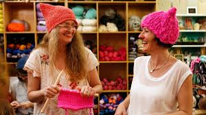 Here s where all those pink hats at the women s march originated.