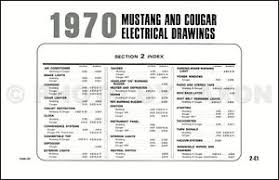 1970 ford mustang mercury cougar original wiring diagram image is loading 1970 ford mustang mercury cougar original wiring diagram