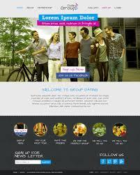 Website Gallery Design Ideas Modern Elegant Social Club Web Design For Meeets By Latest