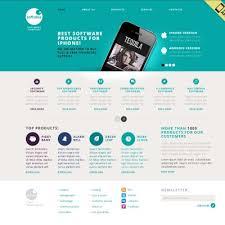 web template design software. 21 Best Software Company Website Templates