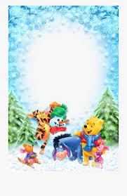 Christmas Photo Frames For Kids Christmas Kids Winter Photo With Winnie The Christmas