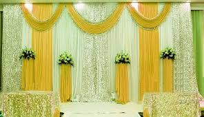 3m 6m ice silk milk white wedding backdrop jpg (732×421) beauty Wedding Background Stage Designs [ cheap cake toppers white wedding backdrop curtains discount table 11 ] woodmark hotel million star baby s breath for centerpieces sweetheart table decor wedding stage background ideas