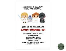 Star Wars Invitation Template Printable Star Wars Birthday Invite Star Wars Star Wars Party Diy Instant Download Templett