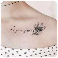 Magnolia Korean Calligraphy More тату татуировки идеи для