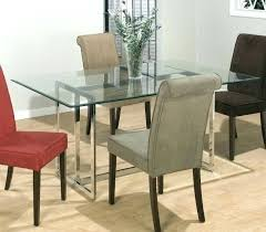 small glass dining table. Rectangular Glass Dining Table Small Room Chrome