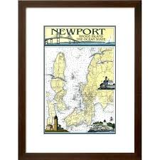 Great Lakes Navigation Charts Framed Nautical Charts Transcreate Co