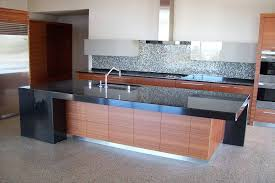 Contemporary Black Granite Kitchen Countertops Awesome Style with