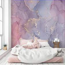 Abstract Wallpaper Pink Purple Gold ...