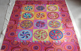 Mary's Inklingo Quilts – All About Inklingo Blog & ... Kaffe Fassett fabrics. Farmer's Delight, ready to quilt. Adamdwight.com