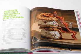 brown er cand bacon ice cream page from coolhausicecreambook cool hunting coolhaus