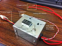 fun of diy a simple temperature control system for 3d printer the finished controller box about 8cm by 5cm by 4cm