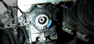 how to replace the front crankshaft oil seal acirc maintenance